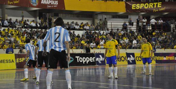 Realização de duas edições internacionais do Grand Prix de Futsal (2009 e 2010)